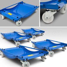 BITUXX® 4 Stück Rangierhilfen Rangierroller Rangierheber für PKW Auto Anhänger