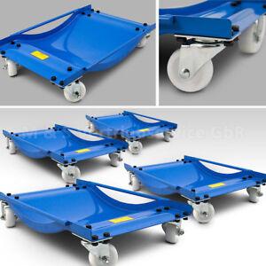 BITUXX 4 Stück Rangierhilfen Rangierroller Rangierheber für PKW Auto Anhänger