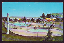 SIOUX FALLS SOUTH DAKOTA SD 1970 Pine Crest Friendship Inn pool Vintage Postcard