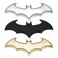 3D Car Styling Sticker Metal Bat Shape Design Car Tail Decal Personality Logo