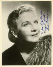 Lovely Vintage ANN HARDING Signed Photo