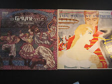 Khachaturian, The Gayne Ballet,RCA 2 LP, and The Student Prince, 6 eye mono 1956