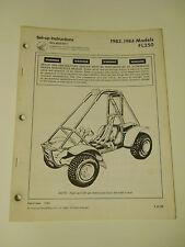 HONDA FL250 ODYSSEY  1983-1984 OFFICIAL OEM SET UP INSTRUCTIONS  MANUAL