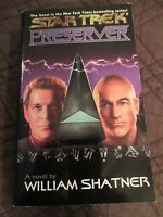 STAR TREK BOOK PRESERVER BY WILLIAM SHATNER 2001