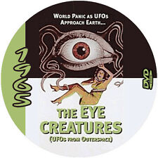 """Attack of the Eye Creatures (1965) Sci-Fi and Horror NR CULT """"B"""" Movie DVD"""
