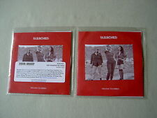 BLEACHED job lot of 2 promo CDs Keep On Keepin' On Wednesday Night Melody