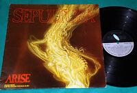 Sepultura - Arise Rough Mixes BRAZIL RARE 1st Press LP 1991 Estudio Eldorado