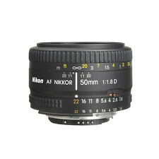 Nikon 50mm f/1.8D AF Nikkor Autofocus Lens For Nikon Digital SLR Cameras NEW