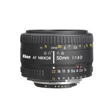 Nikon 50mm f/1.8D AF Nikkor Autofocus Lens For Nikon Digital SLR Cameras NEW