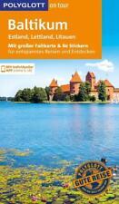 REISEFÜHRER Baltikum Polyglott 2017/18+Landkarte ausfaltbar UNGELESEN, wie neu