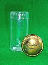 Antique Vintage Yardley Faceted Powder Jar Collectible for Vanity Dresser Table
