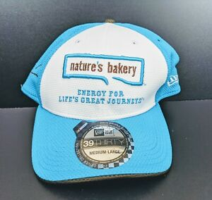 New Era Danica Patrick White Nature's Bakery Driver 39THIRTY Flex Medium Large