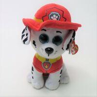 "Ty Beanie Boos Paw Patrol Marshall Firedog 8"" Plush Stuffed Animal"