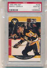 1990 Pro Set Mario Lemieux (HOF) (#236) PSA10 PSA