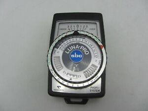 Gossen Luna Pro SBC Profi-System Light / Exposure Meter - Tested