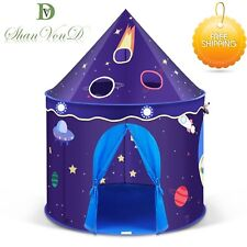Sensory Tent Calming Autism Cosmos-Star Galaxy Scene Kids Playhouse Space Gift