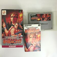 Contra Spirits with Box and Manual [Super Famicom Japanese version]