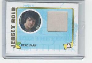 2009 ITG 1972 The Year in Hockey Jersey Gold Brad Park M-29 NY Rangers 1/10