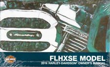 2016 Harley FLHXSE CVO Street Glide Owner's Owners Owner Manual Guide 99577-16