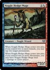 NOGGLE HEDGE-MAGE Eventide MTG Blue/Red Creature — Noggle Wizard Unc