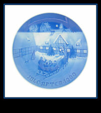 """Bing And Grondahl 1969 """"Arrival Of Christmas Guests"""" Collectors Plate In"""
