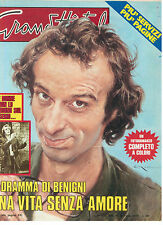 GRAND HOTEL 26 LUGLIO 1979 ROBERTO BENIGNI MORTE MODELLA DONYALE LUNA JOHN WAYNE