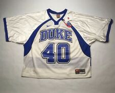 NWT Nike Duke Football Jersey Extra Large XL Short Sleeve White BlueO