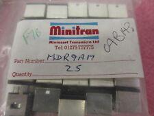 Audio connector PCB MDR9AM Minitran.  2 per sale.