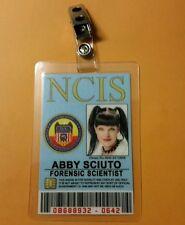 NCIS TV Series ID Badge - Forensic Scientist Abby Sciuto costume cosplay