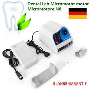 Dental 45K Lab Micromotor motor N8 Micromotore odontotecnico For marathon DHL DE