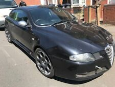ALFA ROMEO GT BLACKLINE BLACK LEATHER INTERIOR WITH RED STITCHING BREAKING