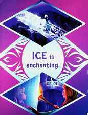 Anna & Elsa - Ice is Enchanting - Disney Pixar Frozen 2 Movie Mini Poster 8x11