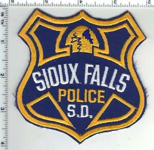 Sioux Falls Police (South Dakota) Shoulder Patch from 1992