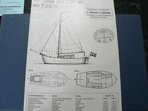 O338 STAVERSE JOL, GRUNDEL BRAND & SOHNE,JACHTWERF RIJNSOEVER BV,1985