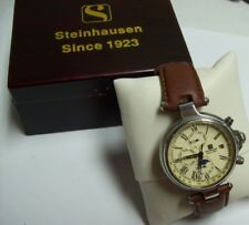 Steinhausen Mens Automatic Moon phase Watch  AO704  w/ Box