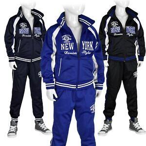 Jogginganzug Trainingsanzug Freizeit Sportanzug Kinder Set: Jacke + Hose #NY2