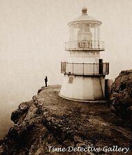 Point Reyes Lighthouse, Point Reyes, California - c. 1870 - Historic Photo Print