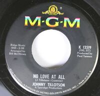 50'S & 60'S 45 Johnny Tillotson - No Love At All / What Am I Gonna Do? On Mgm