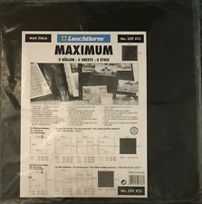Lighthouse Maximum Black Interleaves Dividers 325mm Wide Pages Pack Of 5 Sheets