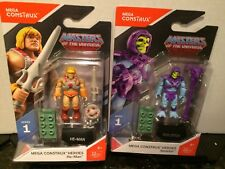 MEGA CONSTRUX HEROES MASTERS OF THE UNIVERSE SET HE-MAN & SKELETOR