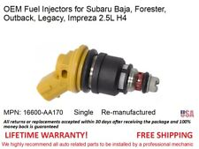 1 fuel Injector for Subaru Baja, Forester, Outback, Legacy, Impreza 2.5L H4 OEM