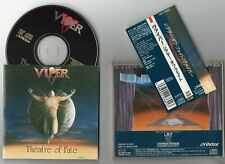VIPER - Theatre Of Fate - 1991 JAPAN OBI ** VIPER , SHAMAN
