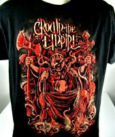 Crown The Empire Band T-Shirt Large Hard Rock Metalcore Band