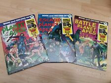 Planet/Escape and Battle for the PLANET OF THE APES : BOOK AND RECORD SETS 1974