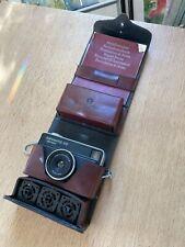 Kleinbild Kamera Agfamatic 100 mit besonderer Tasche Etienne Aigner