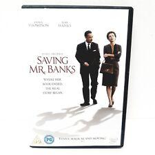 Saving Mr. Banks DVD (2014) Tom Hanks, Mary Poppins Story Free P&P