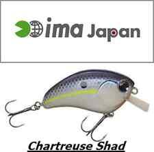 """ima Square Bill Crankbait MADE IN JAPAN 2-1/4""""  3/8 oz. COL Chartreuse Sh IL TOP"""