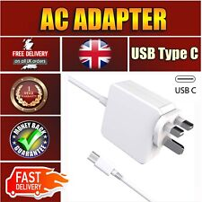 "45W Replacement USB-C Wall Charger Compatible with MacBook Pro 13"" 15""2015-2017"