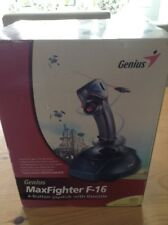 Genius MaxFighter F-16U USB Joystick - Very good condition