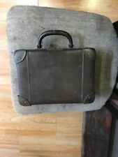 ANTIQUE VINTAGE VERY OLD 20-30'SMINI  SUITCASE WITH LOGO ELEFAN RARE